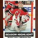 NHL MARTIN BRODEUR 2010-11 PANINI SCORE SEASON HIGHLIGHT CARD #8, NEW, NM-MINT