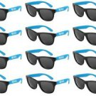 TORONTO CARIBBEAN CARNIVAL SUNGLASSES, 12-PACK, BLUE, NEW