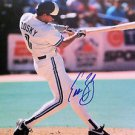 MLB EDDIE ZOSKY AUTOGRAPHED 8X10 PHOTO TORONTO BLUE JAYS, EARLY 1990'S, NR
