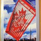 1996 BREEDER'S CUP OFFICIAL PROGRAM, TORONTO, WOODBINE RACETRACK, NEW, NR