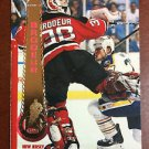 NHL MARTIN BRODEUR 1994-95 PINNACLE CARD #145, GOLD FOIL, NEW, NM-MINT