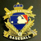 MLB MAJOR LEAGUE BASEBALL CREST LOGO LAPEL PIN, CIRCA 1996 VINTAGE,NEW, NR