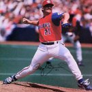 MLB ROGER CLEMENS AUTOGRAPHED 8X10 PHOTO TORONTO BLUE JAYS 1997 CANADA DAY CY