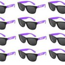 TORONTO CARIBBEAN CARNIVAL SUNGLASSES, 12-PACK, PURPLE, NEW