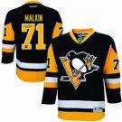 NHL Evgeni Malkin Autographed Pittsburgh Penguins Black & Gold Replica Jersey