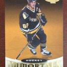 NHL MARIO LEMIEUX 2000-01 UPPER DECK IMMORTALS HEROES CARD #136, NEW, NM-MINT
