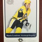 NHL MARIO LEMIEUX 2001-02 FLEER GREATS OF THE GAME CARD #81, NEW, NM-MINT