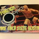 WWE WWF WRESTLEMANIA FOREIGN OBJECTS STONE COLD/AUSTIN EX-NMT NR, FLEER 2001