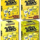 IT'S ALWAYS SUNNY IN PHILADELPHIA PLAYING CARDS 4-PACK, CHARLIE, MAC, PADDYS NR