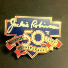 MLB JACKIE ROBINSON 50TH ANNIVERSARY LAPEL PIN, 1997 NEW, NR