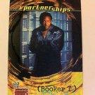 WWE WWF ABSOLUTE DIVAS PARTNERSHIPS BOOKER T NMT-MINT NR, FLEER 2002