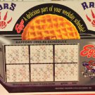 TORONTO RAPTORS 1ST SEASON,1995-96 MAGNET SCHEDULE NR,NBA