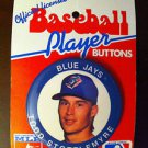 TORONTO BLUE JAYS, TODD STOTTLEMYRE PLAYER BUTTON, 1991, MLB, BASEBALL, NEW NR