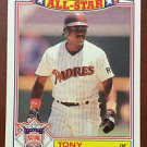 MLB TONY GWYNN TOPPS #6 BASEBALL CARD 1987 ALL-STAR SAN DIEGO PADRES NM-MINT NR