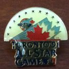 MLB TORONTO BLUE JAYS, 1991 ALLSTAR GAME, LAPEL PIN,  LOT OF 4, SOLD@GAME NEW NR