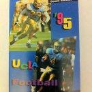 UCLA BRUINS 1995 POCKET SCHEDULE, FOOTBALL, COLLEGE, NCAA, MILLER, SHARP'S, NR
