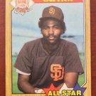 MLB TONY GWYNN TOPPS #599 BASEBALL CARD 1987 AS SAN DIEGO PADRES NM-MINT NR