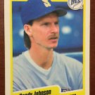 MLB RANDY JOHNSON FLEER #518 BASEBALL CARD 1990 SEATTLE MARINERS NM-MINT