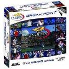 US OPEN TENNIS DVD BOARD GAME,MAJOR,GRAND SLAM,NEW YORK, NIB, NR