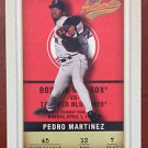 MLB PEDRO MARTINEZ FLEER #12 BASEBALL CARD 2002 BOSTON RED SOX NM-MINT NR