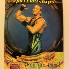 WWE WWF ABSOLUTE DIVAS PARTNERSHIPS ROB VAN DAM NMT-MINT, FLEER 2002