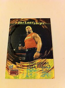 WWE WWF ABSOLUTE DIVAS PARTNERSHIPS HULK HOGAN NMT-MINT, FLEER 2002
