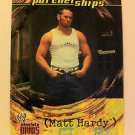 WWE WWF ABSOLUTE DIVAS PARTNERSHIPS MATT HARDY NMT-MINT, FLEER 2002