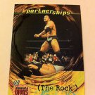 WWE WWF ABSOLUTE DIVAS PARTNERSHIPS THE ROCK NMT-MINT, FLEER 2002