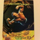 WWE WWF ABSOLUTE DIVAS PARTNERSHIPS TRIPLE H NMT-MINT, FLEER 2002