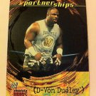WWE WWF ABSOLUTE DIVAS PARTNERSHIPS D-VON DUDLEY NMT-MINT, FLEER 2002