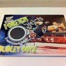 WWE WWF WRESTLEMANIA FOREIGN OBJECTS DUDLEY BOYZ NMT-MINT, FLEER 2001