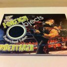 WWE WWF WRESTLEMANIA FOREIGN OBJECTS UNDERTAKER NMT-MINT, FLEER 2001