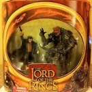LOTR LORD OF THE RINGS, THE TWO TOWERS, MERRY & GRISHNAKH, 2002, NIB, NEW, 2-PACK