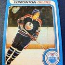 NHL WAYNE GRETZKY, 1979-80 O-PEE-CHEE REPRINT ROOKIE CARD #18, OILERS, MINT