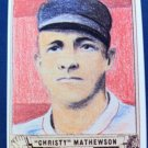 CHRISTY MATHEWSON, 1940 GUM INC. #55 REPRINT EX-NMT, BASEBALL
