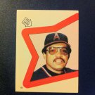 MLB REGGIE JACKSON,TOPPS #163 STICKER,BASEBALL 1983,CALIFORNIA ANGELS,NRMT- MNT