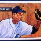 GEORGE KELL, 1941 #46 REPRINT (1986) EX-NMT, BASEBALL