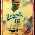BO JACKSON SAMPLE CARD, KANSAS CITY ROYALS, MLB,SUPER STAR ELITE 1989-90, 002