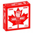 WORD FOR WORD BOARD GAME - CANADA EDITION, EDUCATIONAL, FUN, NEW