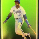 BO JACKSON SAMPLE CARD, KANSAS CITY ROYALS, MLB,SUPER STAR ELITE 1989-90, 003