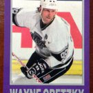NHL WAYNE GRETZKY 1990-91 STAR, PROMO CARD (NO NUMBER), NM-MINT