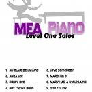 MEA Piano Level One Piano Solos 1