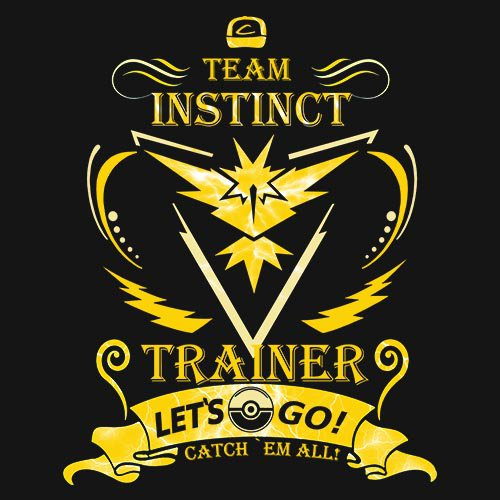 POKEMON - TEAM INSTINCT!!! t-shirt