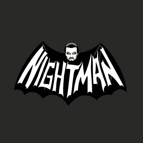 Always sunny - Nightman!!! t-shirt