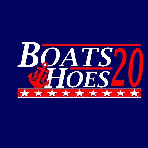 Boats and Hoes -Election tee