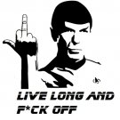 Mr. Spock F*ck off