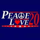 Peace love -Election tee