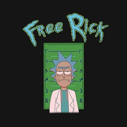 FREE RICK!!! - www.shirtdorks.com