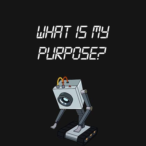 Rick and Morty - What is my purpose!!! t-shirt- www.shirtdorks.com