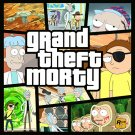 Rick and Morty -GRAND THEFT MORTY!! t-shirt- www.shirtdorks.com